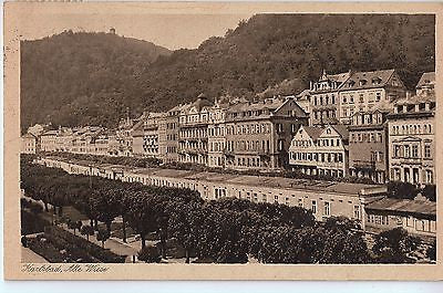 Vintage Postcard of Karlsbad, Alte Wiese Germany $10.00