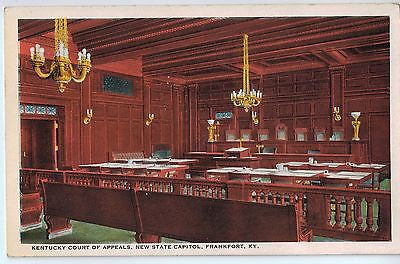 Vintage Postcard of Kentucky Court of Appeals, New State Capitol, Frankfort, KY $10.00