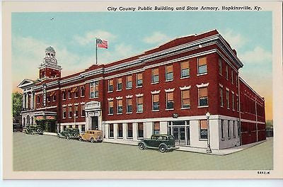 Vintage Postcard of The City County Public Building in Hopkinsville, KY $10.00