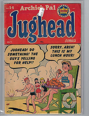 Archie's Pal Jughead Issue #  14 (Oct 1952) $48.00