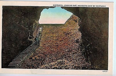 Vintage Postcard of Entrance of Mammoth Cave, KY $10.00