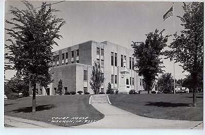 Vintage Postcard of The Court House in Waukon, IA $10.00