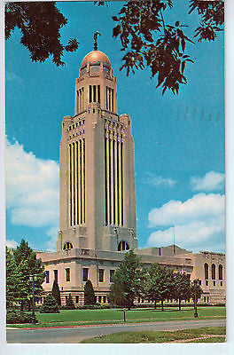 Vintage Postcard of The Nebraska State Capitol in Lincoln, Nebraska $10.00