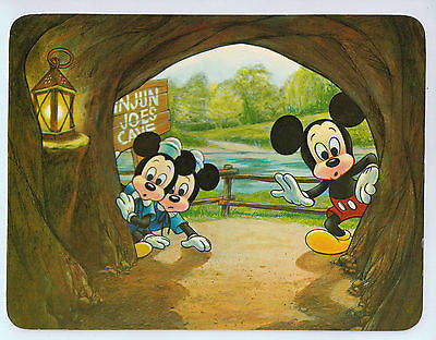 Vintage Postcard of Walt Disney World with Mickey Mouse and His Nephews $10.00