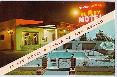 Vintage Postcard of The EL Ray Motel in Old Santa Fe, AZ $10.00