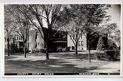 Vintage Postcard of County Court House in Wabasha, MN $10.00