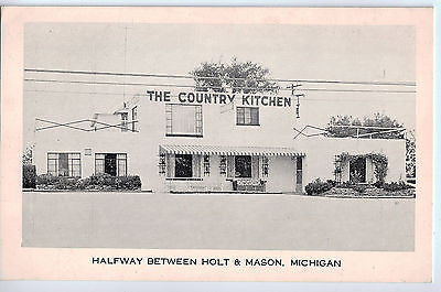 Vintage Postcard of The Country Kitchen Restaurant, MI $10.00