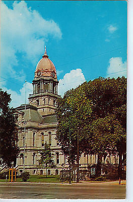 Vintage Postcard of The Court House in Warsaw, Indiana $10.00