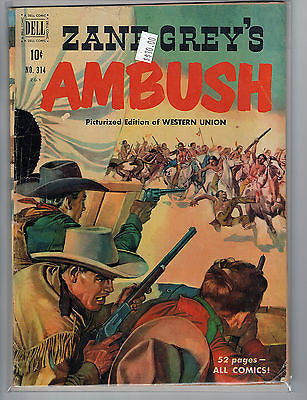Four Color Issue # 314 Zane Grey (Feb 1951, Dell) Dell Comics $10.00