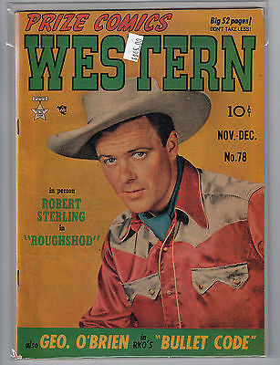 Prize Comics Western, Vol. 8, No 5, Nov-Dec 1949 $45.00