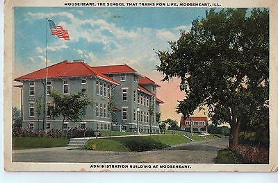 Vintage Postcard of The Administration Building at Mooseheart, IL $10.00