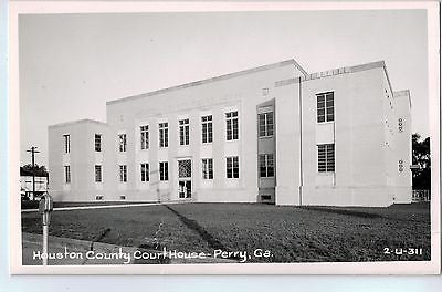 Vintage Postcard of Houston County Court House-Perry, GA $10.00