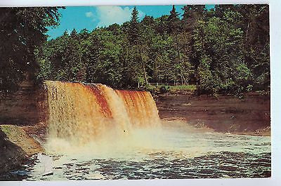 Vintage Postcard of Upper Tahquamenon Falls, MI $10.00