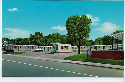 Vintage Postcard of The Dixie Motel in Corbin, KY $10.00