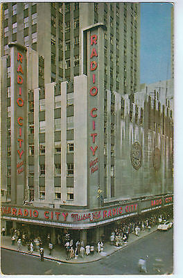 Vintage Postcard of Radio City Music Hall, New York City $10.00
