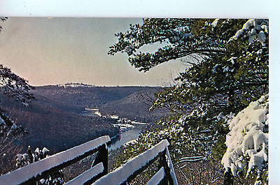 Vintage Postcard of Fresh Snow at Seneca Point, Pennsylvania $10.00