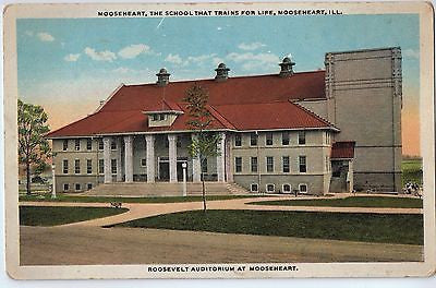 Vintage Postcard of Roosevelt Auditorium At Mooseheart, IL $10.00