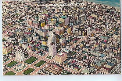 Vintage Postcard of View of St. Louis, Missouri, From the Air $10.00