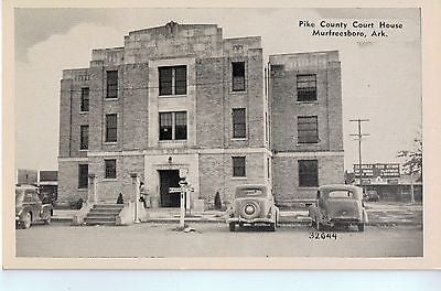 Vintage Postcard of Pike County Court House-Murfreesboro, AR $10.00