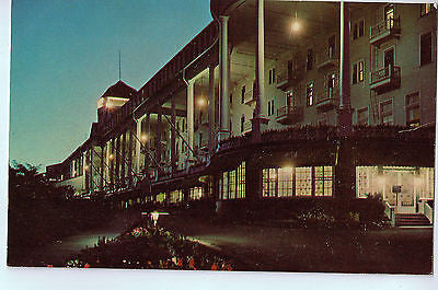 Vintage Postcard of The Grand Hotel in Mackinac Island, Michigan $10.00