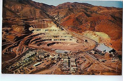 Vintage Postcard of The Phelps Dodge Open-Pit Copper Mine in AZ $10.00