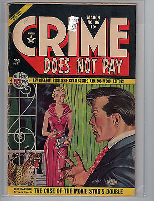 Crime Does Not Pay Issue # 96 (Mar 1951, Lev Gleason) $30.00