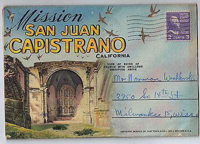Vintage Postcard Pack of Mission San Juan Capistrano California $10.00