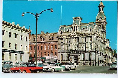 Vintage Postcard of Main Section of Town in Wooster, Ohio $10.00