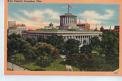 Vintage Postcard of The State Capitol in Columbus, OH $10.00