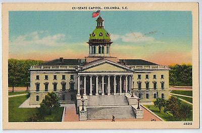 Vintage Postcard of The State Capitol in Columbia, SC $10.00
