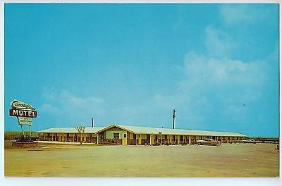 Vintage Postcard of The Woody's Motel in Daphne, AL $10.00