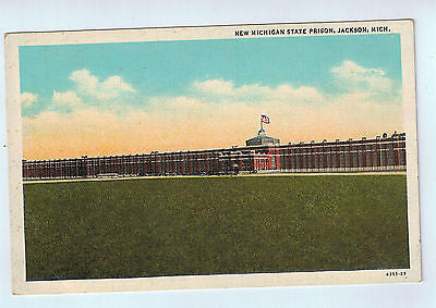 Vintage Postcard of The New Michigan State Prison in Jackson, MI $10.00