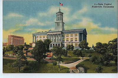 Vintage Postcard of The State Capitol in Nashville, TN $10.00