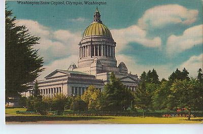 Vintage Postcard of The Washington State Capitol in Olympia, WA $10.00