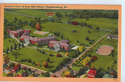 Vintage Postcard of Penn Hall School, Chambersburg, PA $10.00