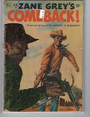 Four Color Issue # 357 Zane Grey  (Nov 1951) Dell Comics $4.00