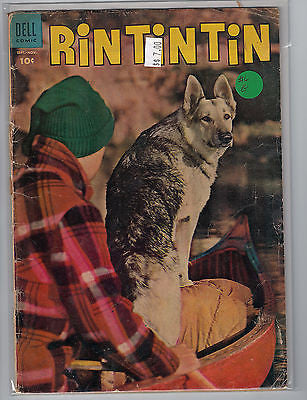 Rin Tin Tin Issue #  6 (Sep-Nov 1954) Dell Comics $7.00