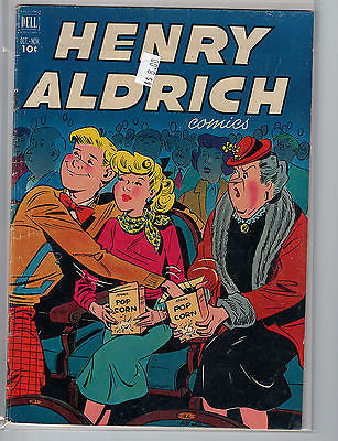 Henry Aldrich Issue # 14 (Oct-Nov 1952) Dell Comics $8.00