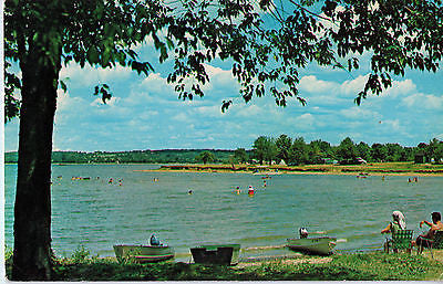 Vintage Postcard of Pymatuning Lake between Jamestown, PA and Ohio Line $10.00