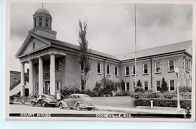 Vintage Postcard of The Court House in Dodgeville, WI $10.00