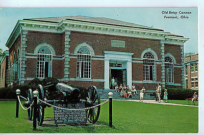 Vintage Postcard of Old Betsy Cannon, Fremont, OH $10.00