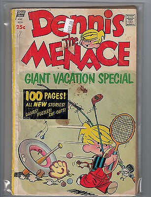 Dennis The Menace Giant Vacation Special, Summer, 1955 $18.00