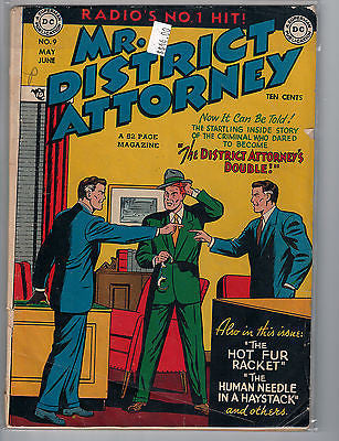 Mr. District Attorney Issue # 9 (May-Jun 1949) DC Comics $44.00