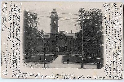 Vintage Postcard of The Court House in Newport, KY $10.00