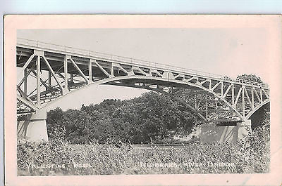 Vintage Postcard of Niobrara River Bridge, Valentine NE $10.00