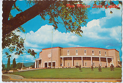 Vintage Postcard of The State Capitol in Santa Fe, NM $10.00