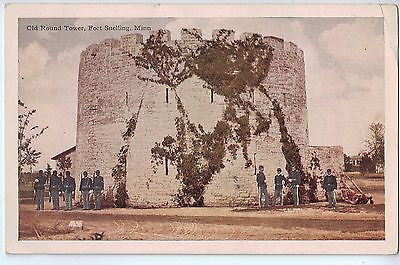 Vintage Postcard of Old Round Tower, Fort Snelling, MN $10.00