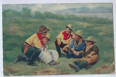 Vintage Postcard of An Interesting Story $10.00