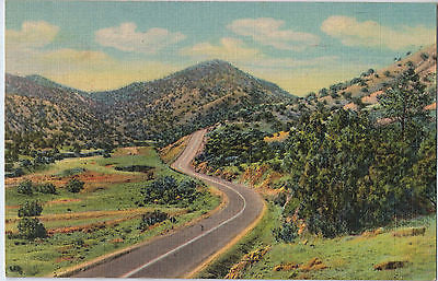 Vintage Postcard of Highway US66 East of Albuquerque, NM $10.00