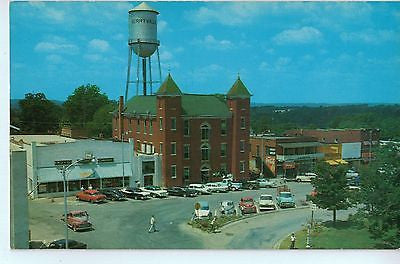 Vintage Postcard of Carroll County Courthouse and Square-Berryville, AR $10.00